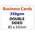 Business Card Double Sided - 350gsm