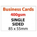 Business Card Single Sided - 400gsm