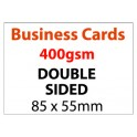 Business Card Double Sided - 400gsm